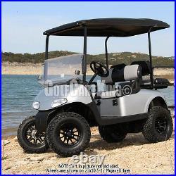 12 RHOX RX104 Wheel with Tire Combo and Yamaha Golf Cart Lift Kit