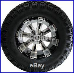 12 RX180 Vegas Wheel and 23 Mojave Tire + Club Car DS 84-03 Golf Cart Lift Kit