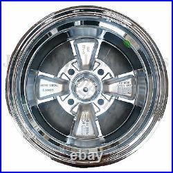 12X7 4/4 Cragar Golf Cart RIM WHEEL Chrome Aluminum series 410C S/S with CAP