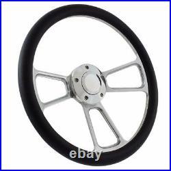 14 Billet polished Steering Wheel All Models EZ-GO TXT GOLF CART