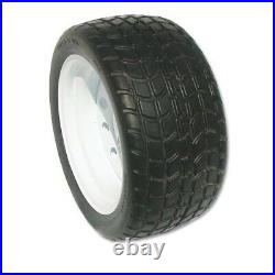 18x8.50-12 Solid Rubber Tire Turf Golf Cart Tire and Wheel Assembly Flat Free