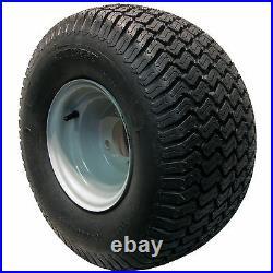 2 20x10.00-8 Golf Cart Tires Wheels Rims fits EZGO Club Car Yamaha Harley more