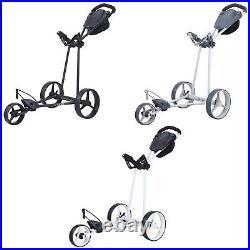 2021 Big Max Ti-Lite 3-Wheel Push Golf Trolley 5 Yr Warranty Quick Fold Cart