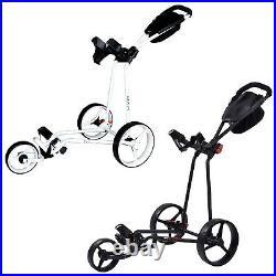 2021 Big Max Ti One 3-Wheel Golf Trolley 5 Yr Warranty Quick-Fold Compact Cart