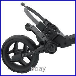 2021 Clicgear Rovic RV1C Compact Golf Trolley Push Pull 3 Wheel Foldable Cart