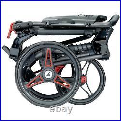 2021 Motocaddy Push Golf Trolley Three Wheel Cart Easy Foldable Lightweight