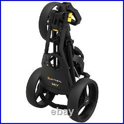 2021 PowaKaddy TwinLine 5 Trolley 3-Wheel Push Golf Cart Compact Foldable