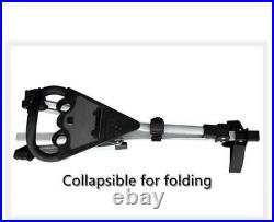 3 Wheel Golf Trolley Aluminum Alloy Foldable Trolley Cart