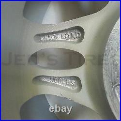 4 12 ALUMINUM Golf Cart WHEELS RIMS 12x7 4/4 3+4 Hollywood 5 Silver Powdercoat