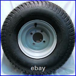 4 20x10.00-8 Golf Cart Tires Wheels Rims fits EZGO Club Car Yamaha Harley more