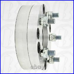 4x4 to 5x4.5 USA Made Golf Cart Wheel Adapters 2 Thick Spacers 4 to 5 lug x2