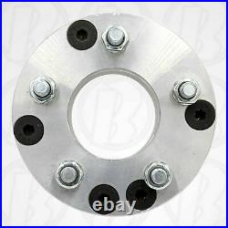 4x4 to 5x4.5 USA Made Golf Cart Wheel Adapters 2 Thick Spacers 4 to 5 lug x4