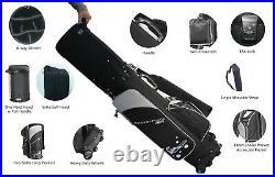 A99Golf Travel Mate III w Skin Wheeled Cover TSA Lock Air Porter Travel Cart bag