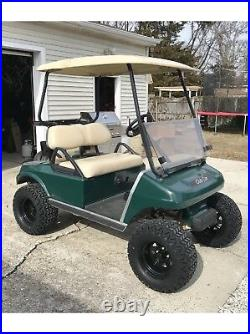 BLACK FRIDAY Black Golf Cart 12 Wheels with 23 Lifted Golf Cart Tires Set/4