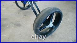 Bag Boy 3 Wheel Golf Cart Push Trolley Straps Brake Foldable Adjustable /BBGT