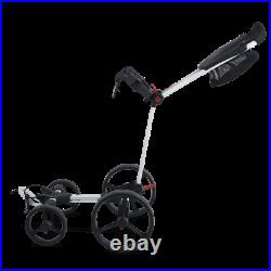 Big Max Blade Quattro 4-Wheel Golf Push Cart/Trolley White NEW! 2021