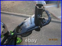Caddy Tek CaddyLite 3Wheel Golf Push & Pull Cart with Seat, Umbrella, Cup Holder