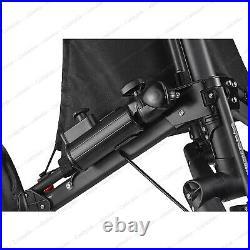 CaddyTek EZ-Fold 3 Wheel Golf Push Cart Golf Trolley -Dark Grey NEW