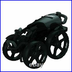Clicgear 8.0+ Golf Push Cart Trolley 4-Wheel Black NEW! 2021