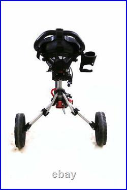 Clicgear Model 3.0 3 Wheels Folding Push Pull Cart