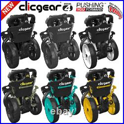 Clicgear Model 4.0 Golf Trolley Push Cart / New For 2020 / +free Wheel Covers