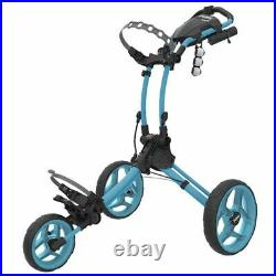 Clicgear Rovic RV1C Compact Golf Push Cart Trolley Light Blue NEW! 2021