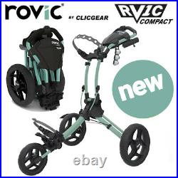 Clicgear Rovic RV1C Compact Golf Push Cart Trolley Mint NEW! 2021