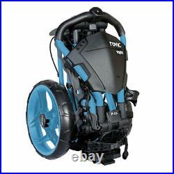 Clicgear Rovic RV1C Golf Push Trolley Light Blue 3 Wheel Compact New 2021 Cart