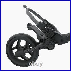 Clicgear Rovic Rv1c Compact Golf Trolley Push Cart + Umbrella Holder