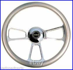 Club Car Golf Cart Billet GT-4 Steering Wheel Combo Set