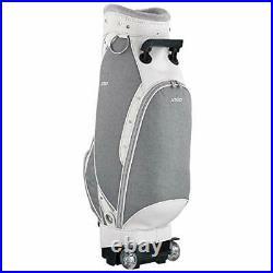 DUNLOP Golf Ladies Caddy Bag with Wheel XXIO 8.5 x 46 inch 3.9kg Gray GGC-X114W