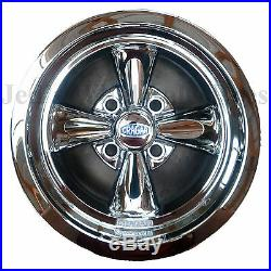 FOUR 12X7 4/4 Cragar Golf Cart Rims Wheels Chrome Aluminum series 410C S/S