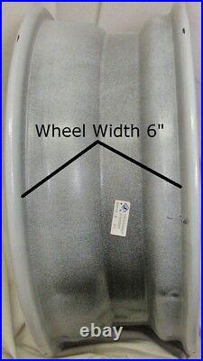 FOUR Golf Cart RIMs WHEELs 12x6 4/4 3+3 RHOX RX284 Gloss Black Machined Face
