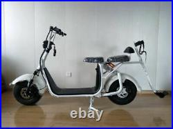 Galactiq 2000with60v Electric Two Wheel 20AH Golf Cart City Coco Scooter NEW
