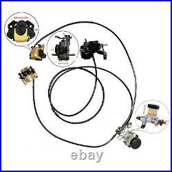 Go Kart Disc Brake Caliper Wheel Hub Steering Knuckle Golf Cart Quad ATV Buggy