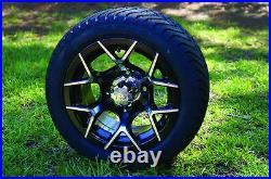 Golf Cart 12x7 SPORT Wheels 215/40-12 Wanda Low Profile Tires