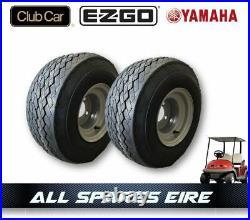 Golf Cart Buggy Wheel & Tyre Assembly Fits Club Car Yamaha Ezgo (2 Wheels)