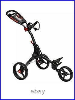 Golf Trolley Eze glide Compact+ 3 Premium 3 Wheel Push Golf Cart Trolley