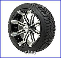 HOT SELLER 14 Wheel Tire Assembly Tempest with 205 30 14 Tires Golf Cart