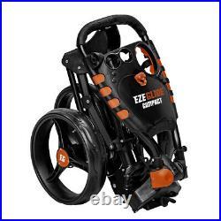 Longridge EZE Glide Compact 3 Wheel Golf Trolley Push Pull Golf Cart
