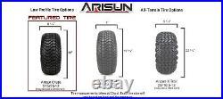 MODZ 12 Assault Bronze Golf Cart Wheels and Tires (215-35-12) Set of 4