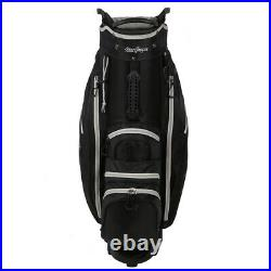 MacGregor Golf VIP Cart Bag with Built In Wheels / Handle, 14 Way Divider