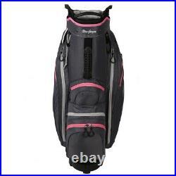 MacGregor Golf VIP Ladies Cart Bag with Built In Wheels / Handle, 14 Way Divider