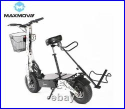 Maxmov 1000-2000w Two Wheel Folding Electric Off Road Golf Cart Scooter Vehicle