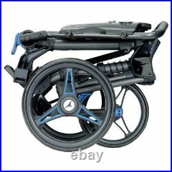 Motocaddy CUBE 3-Wheel Compact Golf Push Cart Trolley Blue NEW! 2021