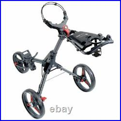 Motocaddy CUBE 3-Wheel Compact Golf Push Cart Trolley Red NEW! 2021