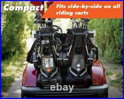 New award winning golf push cart/golf trolley from Transrover. 3 wheel pushcart