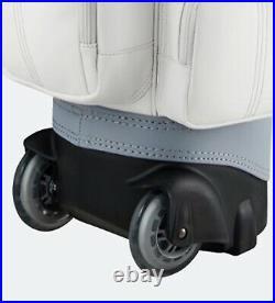 Ping 2021 SC Lady Women Golf Wheeled Caddie Cart Bag 8.5 5Way 4kg PU/PVC -White
