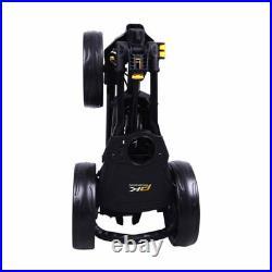 PowaKaddy TwinLine 4 Golf Push Cart Trolley 3-Wheel Black NEW! 2020 Model