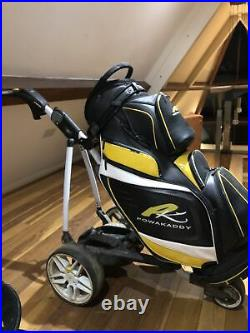 Powakaddy FW3i, All weather Bag And winter wheels. Battery Is A 36 Hole Lithium